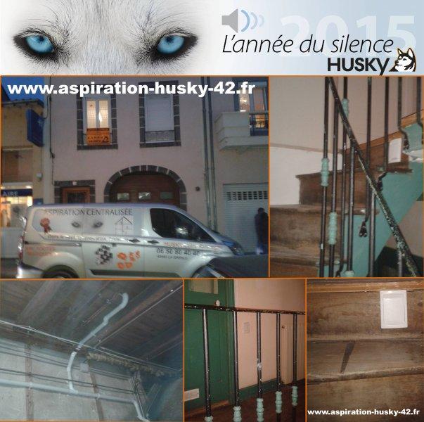 Martres De Veyre Aspiration Centralisée Husky Whisper²